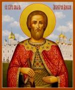 Рукописная икона Дмитрий (Димитрий) Донской 6 (Размер 21*25 см)