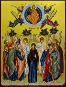 Рукописная икона Вознесение Господне 3