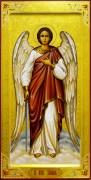 Рукописная икона Ангел Хранитель 78 (Размер 20*40 см)