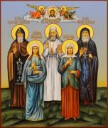 Рукописная семейная икона 89