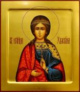 Рукописная икона Христина Тирская