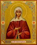 Рукописная икона Ксения Петербургская 9