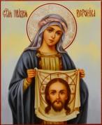 Рукописная икона Вероника Праведная масло