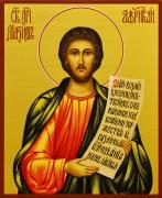 Рукописная икона Максим Африканский