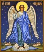 Рукописная икона Ангел Хранитель 89 (Размер 17*21 см)