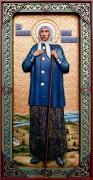 Резная икона Ксения Петербургская 2