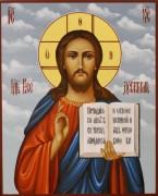 Рукописная икона Спас Вседержитель 54