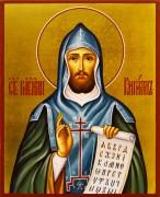 Рукописная икона Кирилл Моравский Равноапостольный