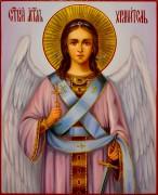 Рукописная икона Ангел Хранитель масло 89 (Размер 13*16 см)