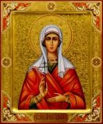 Рукописная икона Анна Адрианопольская