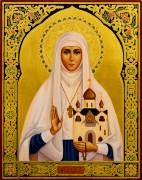 Рукописная икона Елизавета Федоровна 6
