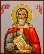 Рукописная икона Илия пророк 8 (Размер 17*21 см)