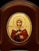 Икона из финифти Ева Праматерь (Размер 11*14 см)