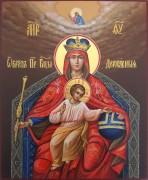 Рукописная икона Державная 3