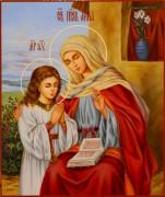 Рукописная икона Анна Праведная масло