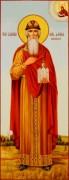 Рукописная мерная икона Даниил Московский 2 масло