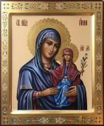 Рукописная икона Анна Праведная 6