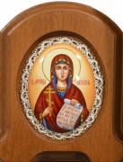 Икона из финифти Наталия Никомидийская (Размер 11*14 см)