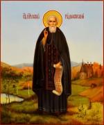 Рукописная икона Сергий Радонежский масло 32