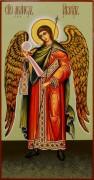 Рукописная икона Архангел Гавриил 4