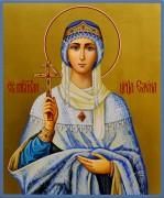 Рукописная икона царица Елена Равноапостольная 15