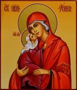 Рукописная икона Анна Праведная Мать Пресвятой Богородицы