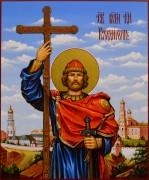Рукописная икона Владимир Равноапостольный 17