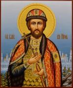 Рукописная икона Игорь Черниговский 8 (Размер 21*25 см)