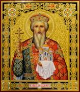 Рукописная икона Владимир Равноапостольный 17 (Размер 27*31 см)