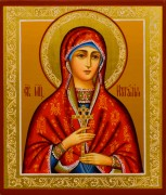 Рукописная икона Наталия Никомидийская 8