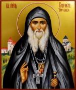 Рукописная икона Гавриил Ургебадзе 4 (Размер 17*21 см)