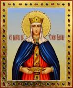 Рукописная икона Елена Равноапостольная 12 (Размер 17*21 см)