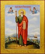 Рукописная икона Андрей Первозванный 23 (Размер 21*25 см)