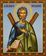 Рукописная икона Андрей Первозванный 24 (Размер 17*21 см)