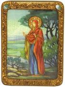Икона ручной работы Ева Праматерь с камнями