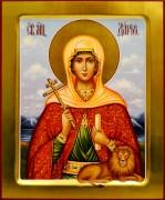 Рукописная икона Дария Дарья Римская 6 (Размер 17*21 см)