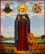 Рукописная икона Дария Дарья Римская 7