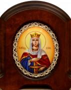 Икона из финифти Ирина Македонская (Размер 11*14 см)