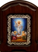 Икона из финифти Воскресение Христово (Размер 14*20 см)