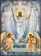 Рукописная икона Воскресение Христово 10