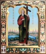 Рукописная икона Андрей Первозванный 27