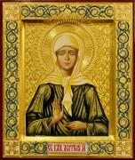 Рукописная икона Матрона Московская 30 (Размер 21*25 см)