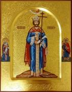 Рукописная икона Константин равноапостольный 4