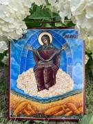 Рукописная икона Спорительница Хлебов 2 (Размер 17*21 см)