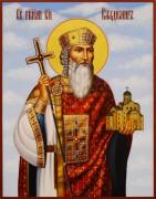 Рукописная икона Владимир равноапостольный 20