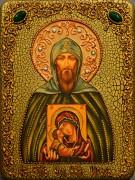 Икона Князь Игорь с камнями