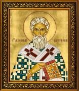 Рукописная икона Геннадий Цареградский