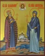 Рукописная семейная икона 3