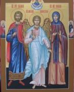 Рукописная семейная икона 24
