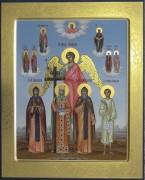 Рукописная семейная икона 25